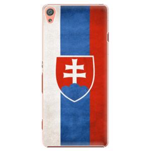 Plastové puzdro iSaprio - Slovakia Flag - Sony Xperia XA