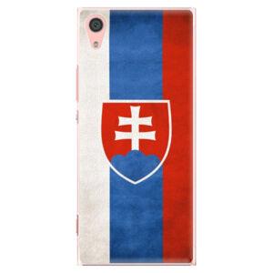Plastové puzdro iSaprio - Slovakia Flag - Sony Xperia XA1