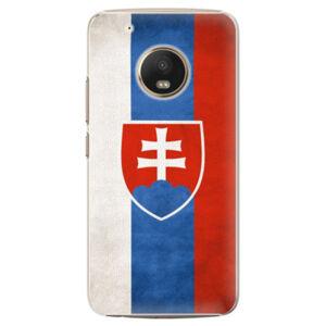 Plastové puzdro iSaprio - Slovakia Flag - Lenovo Moto G5 Plus