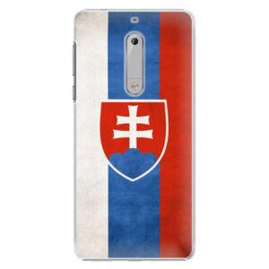 Plastové puzdro iSaprio - Slovakia Flag - Nokia 5