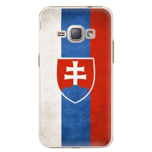 Plastové puzdro iSaprio - Slovakia Flag - Samsung Galaxy J1 2016