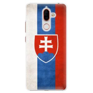Plastové puzdro iSaprio - Slovakia Flag - Nokia 7 Plus