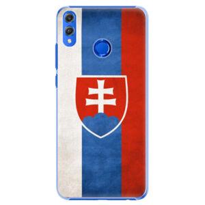 Plastové puzdro iSaprio - Slovakia Flag - Huawei Honor 8X