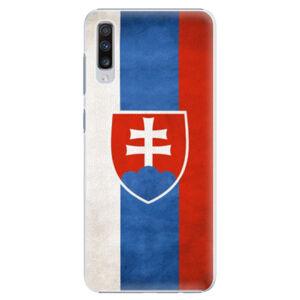 Plastové puzdro iSaprio - Slovakia Flag - Samsung Galaxy A70