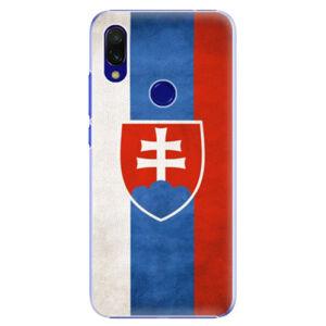 Plastové puzdro iSaprio - Slovakia Flag - Xiaomi Redmi 7