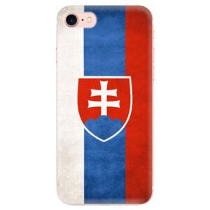 Odolné silikónové puzdro iSaprio - Slovakia Flag - iPhone 7
