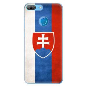 Odolné silikónové puzdro iSaprio - Slovakia Flag - Huawei Honor 9 Lite