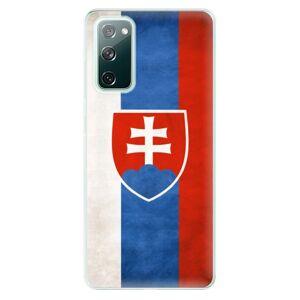 Odolné silikónové puzdro iSaprio - Slovakia Flag - Samsung Galaxy S20 FE