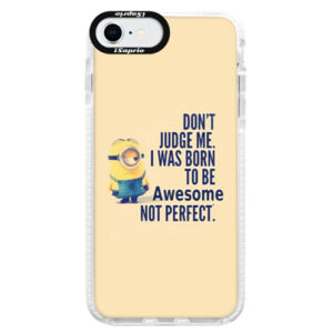 Silikónové puzdro Bumper iSaprio - Be Awesome - iPhone SE 2020