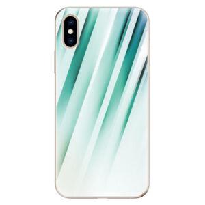 Odolné silikónové puzdro iSaprio - Stripes of Glass - iPhone XS