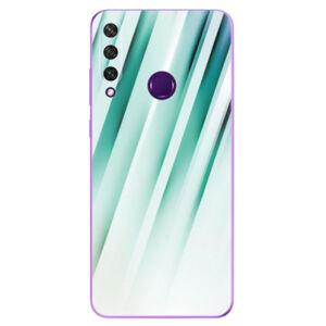 Odolné silikónové puzdro iSaprio - Stripes of Glass - Huawei Y6p