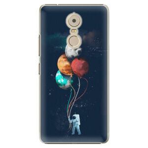 Plastové puzdro iSaprio - Balloons 02 - Lenovo K6 Note