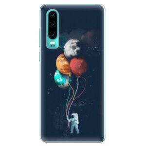Plastové puzdro iSaprio - Balloons 02 - Huawei P30