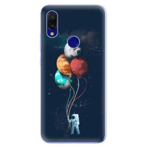 Odolné silikonové pouzdro iSaprio - Balloons 02 - Xiaomi Redmi 7