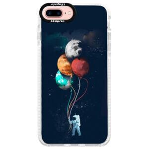 Silikónové púzdro Bumper iSaprio - Balloons 02 - iPhone 7 Plus
