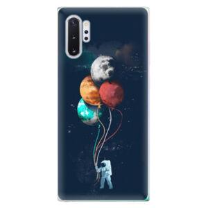 Odolné silikónové puzdro iSaprio - Balloons 02 - Samsung Galaxy Note 10+