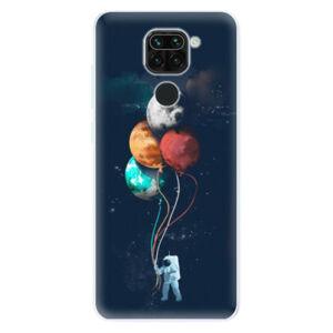 Odolné silikónové puzdro iSaprio - Balloons 02 - Xiaomi Redmi Note 9
