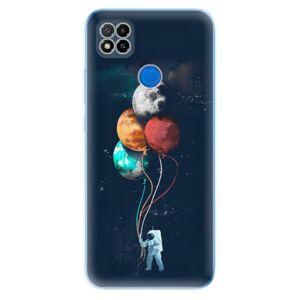 Odolné silikónové puzdro iSaprio - Balloons 02 - Xiaomi Redmi 9C