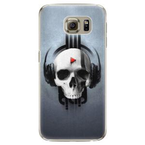 Plastové puzdro iSaprio - Skeleton M - Samsung Galaxy S6 Edge