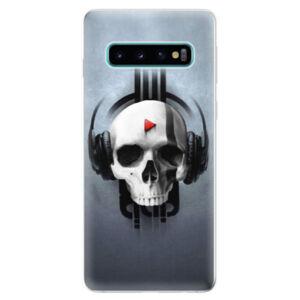 Odolné silikónové puzdro iSaprio - Skeleton M - Samsung Galaxy S10