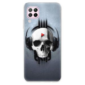 Odolné silikónové puzdro iSaprio - Skeleton M - Huawei P40 Lite