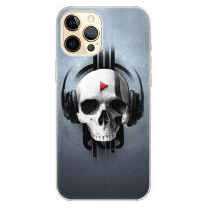 Odolné silikónové puzdro iSaprio - Skeleton M - iPhone 12 Pro Max
