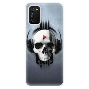 Odolné silikónové puzdro iSaprio - Skeleton M - Samsung Galaxy A02s