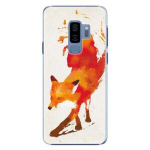 Plastové puzdro iSaprio - Fast Fox - Samsung Galaxy S9 Plus
