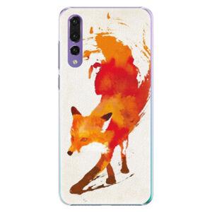 Plastové puzdro iSaprio - Fast Fox - Huawei P20 Pro