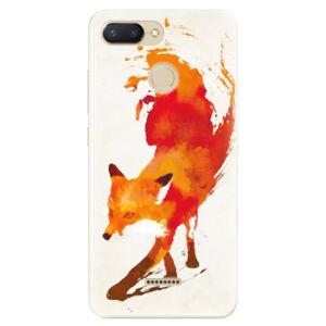 Odolné silikónové puzdro iSaprio - Fast Fox - Xiaomi Redmi 6