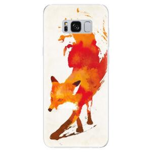 Odolné silikónové puzdro iSaprio - Fast Fox - Samsung Galaxy S8