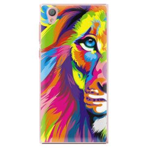Plastové puzdro iSaprio - Rainbow Lion - Sony Xperia L1