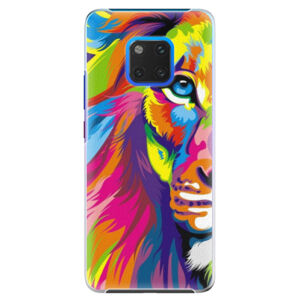 Plastové puzdro iSaprio - Rainbow Lion - Huawei Mate 20 Pro