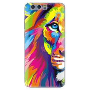 Silikónové puzdro iSaprio - Rainbow Lion - Huawei Honor 9