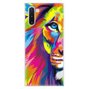 Odolné silikónové puzdro iSaprio - Rainbow Lion - Samsung Galaxy Note 10