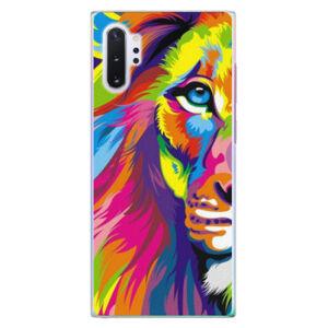 Plastové puzdro iSaprio - Rainbow Lion - Samsung Galaxy Note 10+
