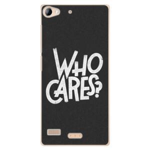 Plastové puzdro iSaprio - Who Cares - Sony Xperia Z2
