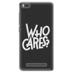Plastové puzdro iSaprio - Who Cares - Xiaomi Mi4C