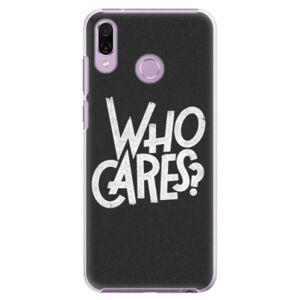 Plastové puzdro iSaprio - Who Cares - Huawei Honor Play
