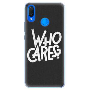 Silikónové puzdro iSaprio - Who Cares - Huawei Nova 3i