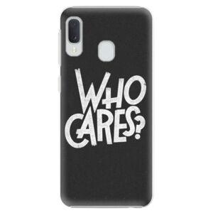 Plastové puzdro iSaprio - Who Cares - Samsung Galaxy A20e