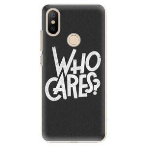 Plastové puzdro iSaprio - Who Cares - Xiaomi Mi A2