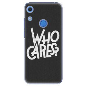 Plastové puzdro iSaprio - Who Cares - Huawei Y6s