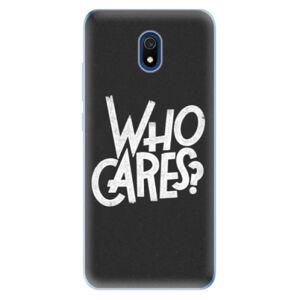 Odolné silikónové puzdro iSaprio - Who Cares - Xiaomi Redmi 8A