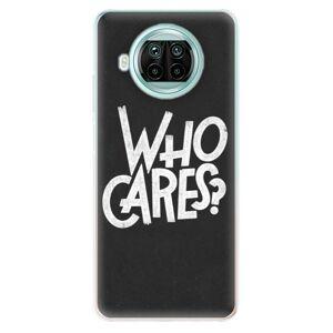 Odolné silikónové puzdro iSaprio - Who Cares - Xiaomi Mi 10T Lite