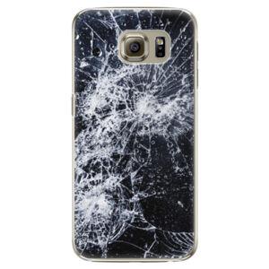 Plastové puzdro iSaprio - Cracked - Samsung Galaxy S6