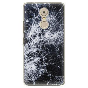Plastové puzdro iSaprio - Cracked - Lenovo K6 Note