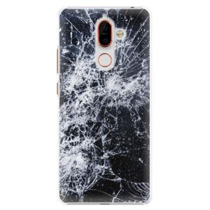 Plastové puzdro iSaprio - Cracked - Nokia 7 Plus