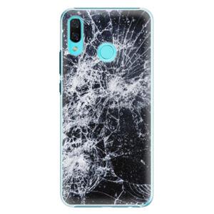 Plastové puzdro iSaprio - Cracked - Huawei Nova 3