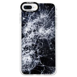 Silikónové púzdro Bumper iSaprio - Cracked - iPhone 8 Plus